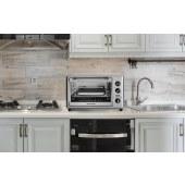 汉美驰32升电转大容量烤箱电烤箱家用商用电烤炉烤鸡对流式烤多功能烘焙机31103-CN