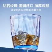 铸派水杯 家用透明水杯ins风简约隔热耐摔水杯家用女酒杯喝水杯子