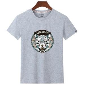 海谜璃男式短袖t恤纯棉新款运动休闲宽松大码半袖HB8315