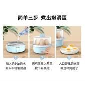 美菱煮蛋器家用多层蒸蛋器多用途家用双层早餐机MUE-LC3502