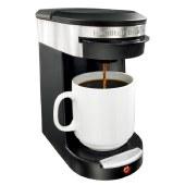 汉美驰单杯式咖啡机美式家用小型迷你单人咖啡机49970-CN