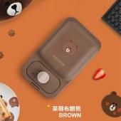 九阳三明治机line联名早餐机轻食机华夫饼机家用多功能吐司压烤机JK1312-K72