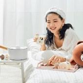 九阳奶锅line联名不粘锅小汤锅蒸锅牛奶锅泡面锅煮面小锅煮奶锅宝宝婴儿辅食锅热奶锅TLL-1622D