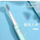 山水(SANSUI)X9电动牙刷成人情侣款声波震动牙刷充电式