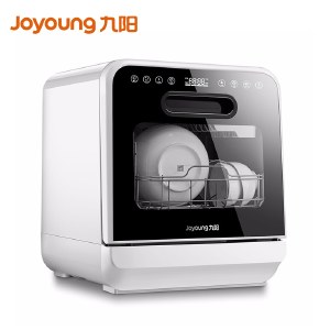 九阳洗碗机家用免安装台式水果清洗机大容量厨房餐具机XT601