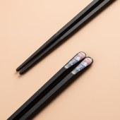 铸派筷子家用一人一筷防滑防霉耐高温高档分餐筷日式合金筷子套装10双装