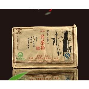 一品茶韵  一品堂云南普洱熟茶老茶砖2008年250g