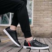 海谜璃小白运动鞋男潮流休闲鞋子男士百搭平底鞋HBX7006