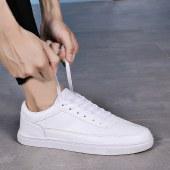 海谜璃新款男士商务皮鞋滑板鞋HB9647