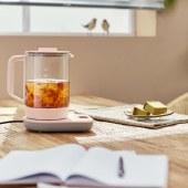 美的(Midea)GE1507 养生壶 煮茶壶花茶壶办公玻璃