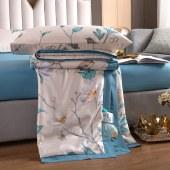 悠梦嘉居凉感天丝大豆纤维被大豆纤维填充,天丝凉感面料,舒适极佳,健康环保 180*220/200*230 CM