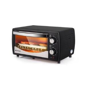 山水电烤箱12L家用烘焙小烤箱控温迷你烤蛋糕烤肉烘焙烘烤蛋糕面包电烤炉烘焙机SKX03