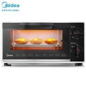 美的(Midea)T1-109F 烤箱 10升 黑色