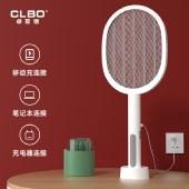 CLBO卓联博 电蚊拍充电式二合一家用电苍蝇电蚊子灭蚊子灭蚊灯两用天网电蚊拍【新品上市】