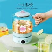 九阳养生壶哆啦A梦联名款煮茶壶家用多功能1L小型电水壶热水壶烧水壶K10-D605XD