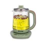 山水新配色养生壶多功能家用电水壶烧水壶热水壶煮茶壶花茶壶电茶壶煮水壶KT-823