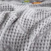 悠梦嘉居华夫格镂空毛巾被A类产品婴幼儿均可使用,双层镂空华夫格工艺四季可用180*200cm