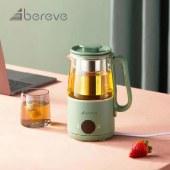 艾贝丽养生杯养生壶家用办公室小型电水壶迷你办公室便携0.6L一体式保温煮茶壶热水壶花茶壶QF-C604