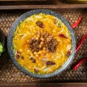 云南特产过桥米线 松茸鸡汤米线水煮型健康美味 222g/袋装 3包/6包装