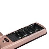美的(Midea)全自动智能门锁 指纹推拉式自动锁 红古铜 BF500(含网关)