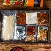云南特产滇味小锅米线 水煮型过桥米线 263g/袋装 3包/6包装