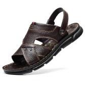 海谜璃凉鞋男士新款休闲沙滩鞋男软底凉鞋HBX7226