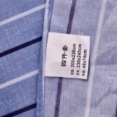 姿霖 大版斜纹磨毛活性印花四件套YY437