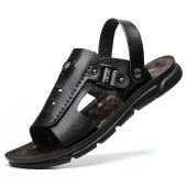 海谜璃凉鞋男夏季新款休闲时尚凉鞋两穿防滑凉拖HBX7229