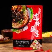云南特产过桥米线 麻辣鸡枞菌米线水煮型248g/袋装 3包/6包装