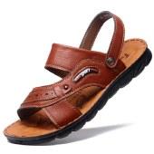 海谜璃新款男士凉鞋夏季时尚拖鞋男防滑沙滩鞋凉拖鞋HBX7225