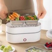 创维电热饭盒加热保温便携带饭神器菜蒸煮保温桶上班族饭煲便当S110/S111