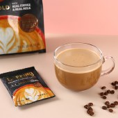 papatonk咖菲诺特浓拿铁风味速溶咖啡饮料30g*15袋装【新品上市】