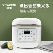 创维电饭锅4L大容量智能预约半球内胆多功能焖煮家用电饭煲F54