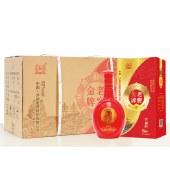 【6瓶整箱】泸州老窖老窖金牌 家福旺浓之雅白酒 500ml*6瓶整箱装(配3个礼品袋)