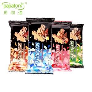 【印尼进口】papatonk奥嘉莱巧克力4包装 巴厘岛特产威化饼干糕点小包装【新品上市】