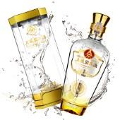 【6瓶整箱】五粮国宾·珍酿浓香型白酒500ml*6瓶整箱装(配3个礼品袋)