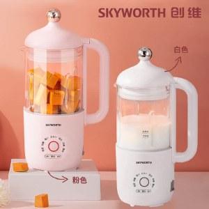 创维 迷你破壁豆浆机家用小型单人多功能果汁机米糊搅拌机P304P305
