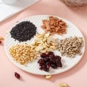 藕粉羹坚果代餐粉早餐粉 坚果杂粮膳食纤维粉 水果燕麦片麸皮谷物米糊