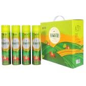 【新装上市】立健一级冷榨亚麻籽油 食用油 胡麻油月子油 精品礼盒 500ml*4瓶/盒