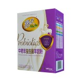 惠民中老年益生菌羊奶粉成人老年人富硒高钙无蔗糖400g每盒HM007【新品上市】