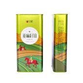 立健保鲜亚麻籽油食用油植物油胡麻油月子油1L*2精美礼盒装