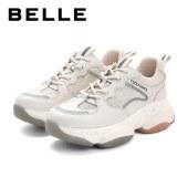 百丽Belle冰原老爹鞋 女夏新商场同款厚底网面运动休闲鞋W2P4DBM1