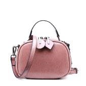 海谜璃牛皮女包时尚斜挎包手提包单肩包HBB0154