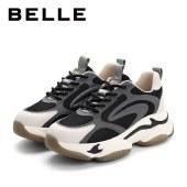 百丽Belle小虎牙老爹鞋 女春新商场同款厚底运动休闲鞋W2P2DAM1