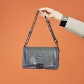 海谜璃新款菱格链条包小香风单肩包女士斜挎包包经典复古小方包HBB0166