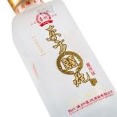 东方喜炮喜庆装白酒 52度125ml 浓香型国产小白酒小瓶单支装