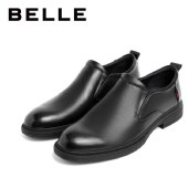 百丽Belle商务正装鞋 男商场同款皮鞋套脚鞋子6YK02CM0