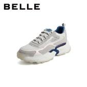 百丽Belle鲸鱼老爹鞋 女春新商场同款运动风休闲老爹鞋W1A1DAM1