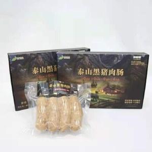 泰山黑猪肉肠(原味/黑胡椒)400g*2盒