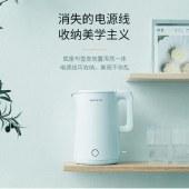 九阳 热水壶开水煲 双层保温防烫 45度倾斜盖设计防汤 K17-F806